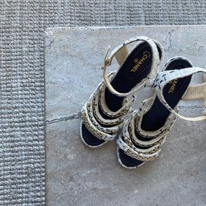 Chanel Sandals Heels 41 As New